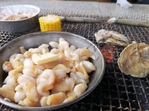 ミニフライパンの海鮮もおすすめ