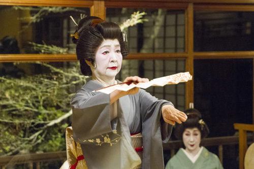 長崎検番の染葉さん