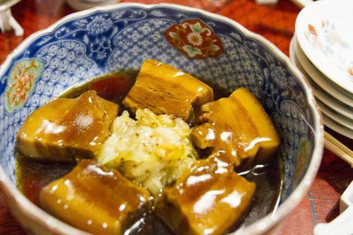 料亭春海の卓袱料理(角煮)