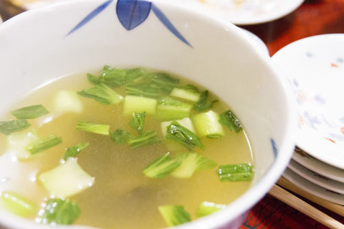 料亭春海の卓袱料理(スープ)
