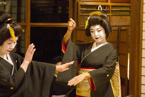 長崎検番の芸者さん